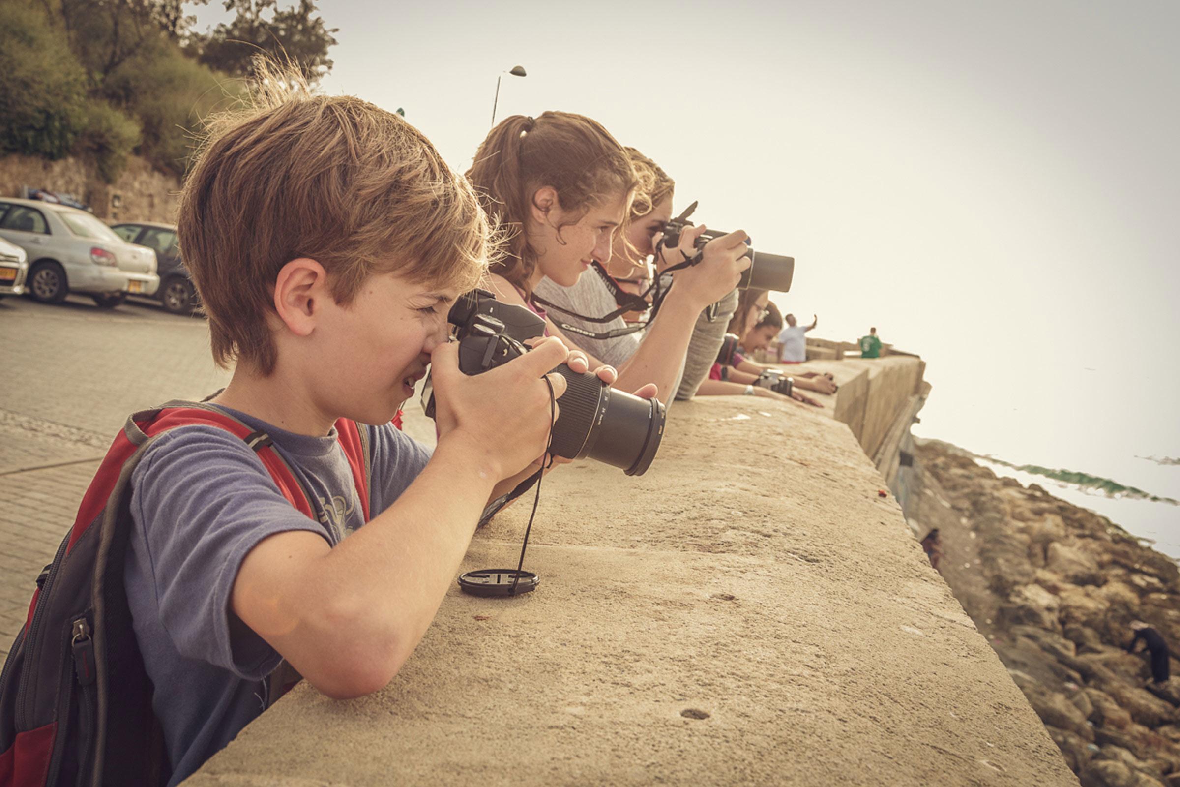 קורסי צילום לנוער